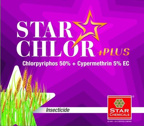 Chlorpyriphos 50% EC + Cypermethrin5% EC