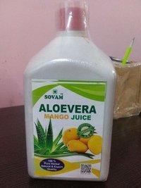 Sovam Aloevera with Mango Juice