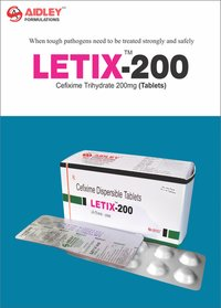 Cefixime 200mg + Lactic Acid Bacillus 60 Million Spores