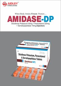 Diclofenac Pot. 50mg + Paracetamol 325mg + Serratiopetidase 10mg