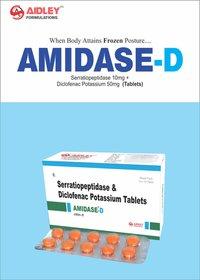 Diclofenac Potassium 50mg + Serratiopeptidase 10mg Tablet