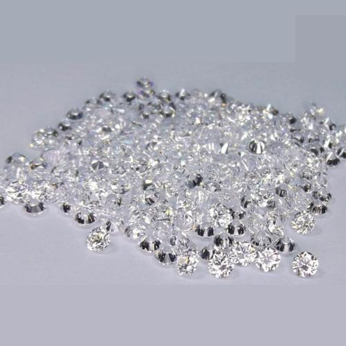 Cvd Diamond 1.80mm to1.90mm DEF VVS VS Round Brilliant Cut Lab Grown HPHT Loose Stones TCW 1