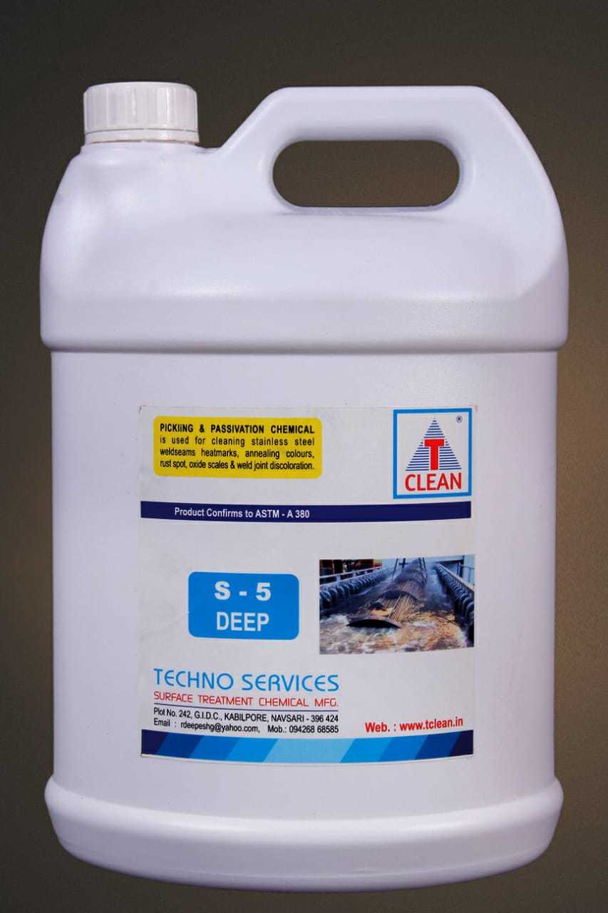 Deep Cleaning Chemicals S 5