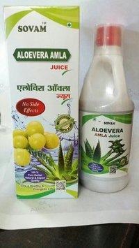 Sovam Aloe Vera Amla Juice