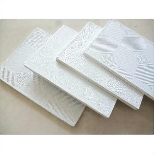 White Gypsum Ceiling Tile