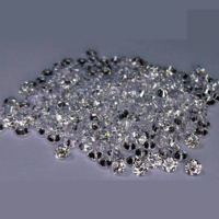 Cvd Diamond 2.30mm to2.40mm DEF VVS VS Round Brilliant Cut Lab Grown HPHT Loose Stones TCW 1