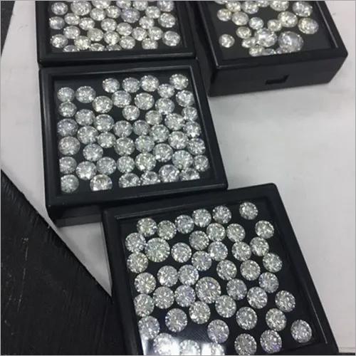 Cvd Diamond 3.10mm to3.20mm DEF VVS VS Round Brilliant Cut Lab Grown HPHT Loose Stones TCW 1
