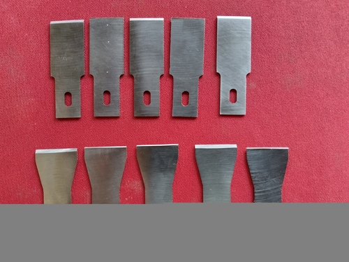 DIE FACE CUTTING BLADES