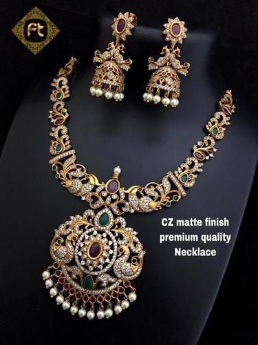 Imitation Brass Necklace