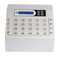 Intelligent 9 Silver Series -  1 to 19 USB Duplicator and Sanitizer (UB920S)