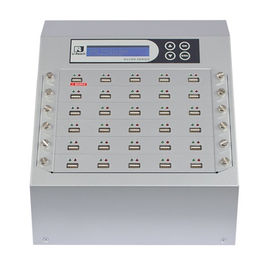 Intelligent 9 Silver Series -  1 to 29 USB Duplicator and Sanitizer (UB930S)