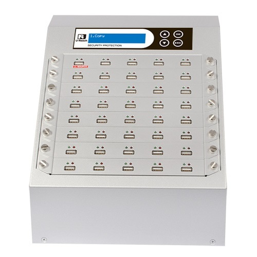 Intelligent 9 Silver Series -  1 to 39 USB Duplicator and Sanitizer (UB940S)