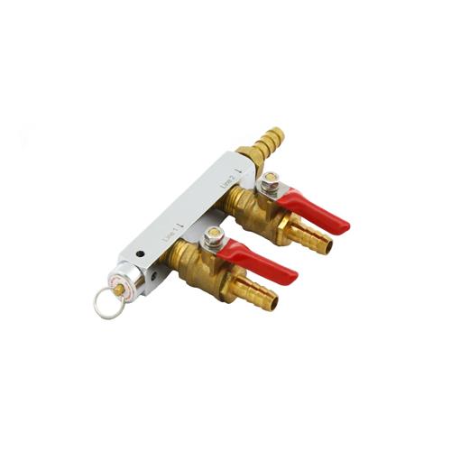 2 way Gas Distributor With 60 PSI PRV