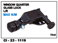 Window Quarter Glass Lock  Max  N/M ,  L/R