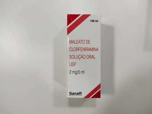 Maleato De Clorfeniramina Solucao Oral Usp