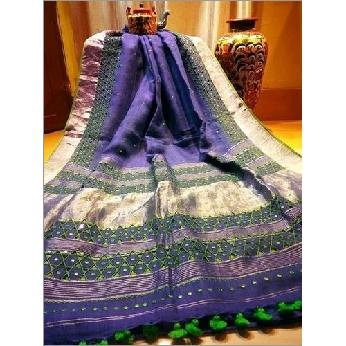 Embroidered Silk Sarees