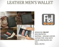 Leather Men's Wallet
