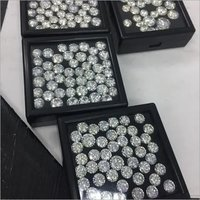 Cvd Diamond 3.40mm to3.50mm DEF VVS VS Round Brilliant Cut Lab Grown HPHT Loose Stones TCW 1