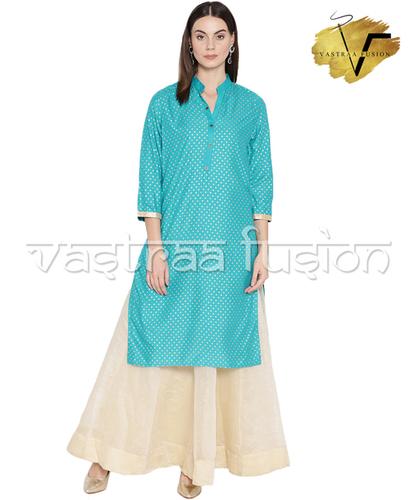 Ladies Festive Anarkali Printed kurti