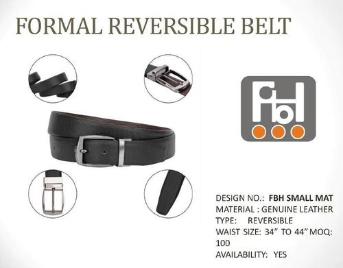 Formal Reversible Belt