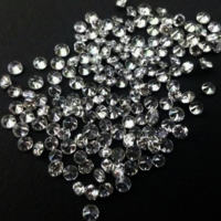 Cvd Diamond 3.60mm to3.70mm DEF VVS VS Round Brilliant Cut Lab Grown HPHT Loose Stones TCW 1