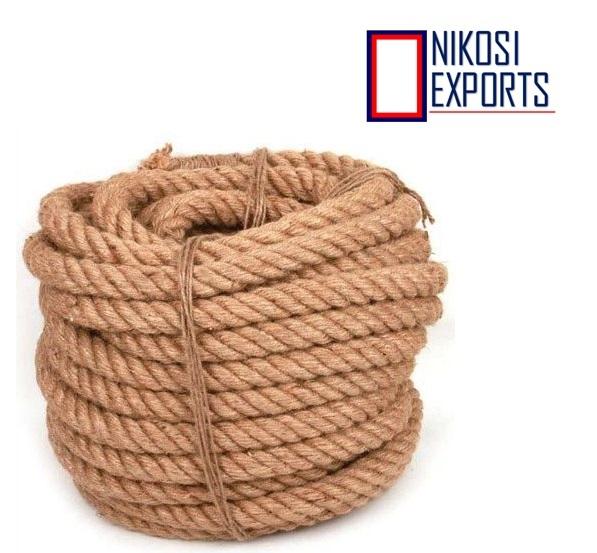 Brown Natural Coir Yarn