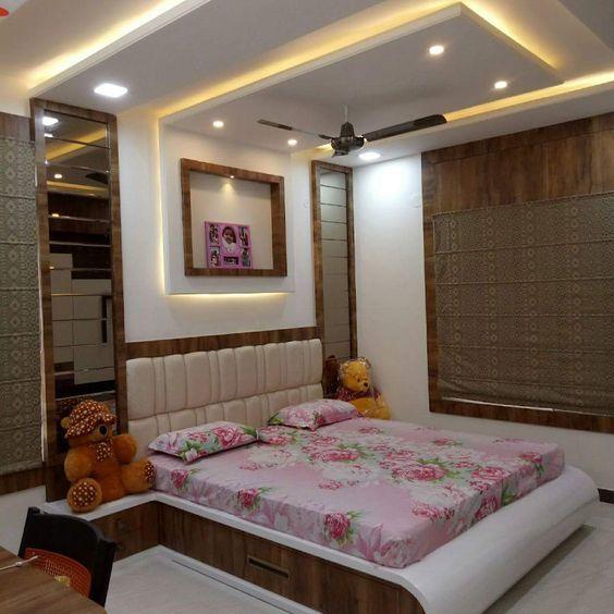 ceiling , flooring kitchen, Living and bedroom design