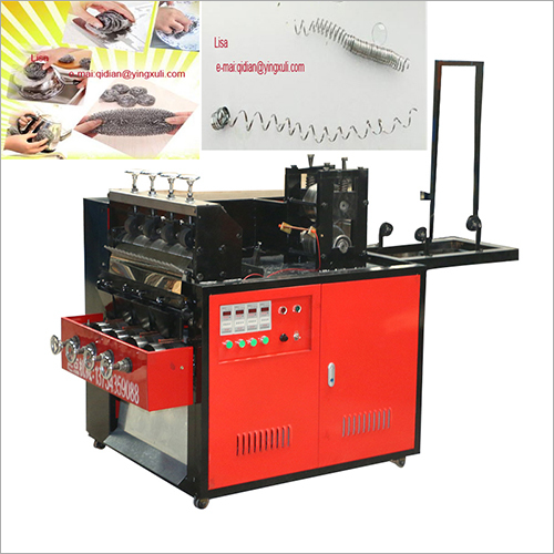 Flat Short Scrubber Making Machine