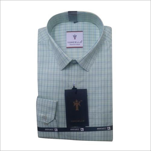 Long Sleeve Mens Plain Shirt