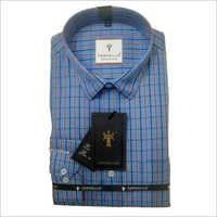 Mens Full Sleeves Checks Formal Shirts