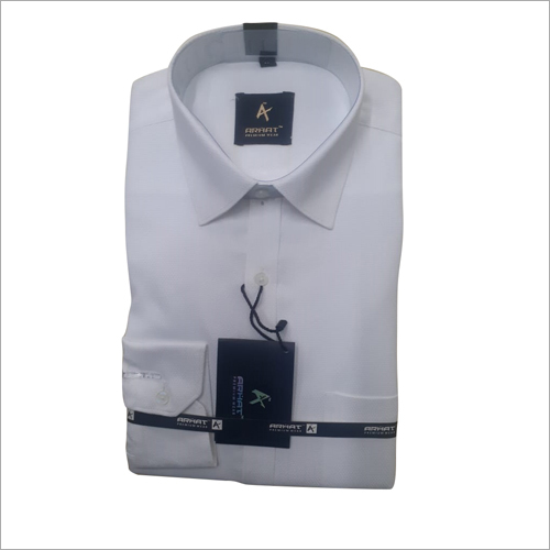 White Plain Formal Shirt