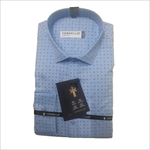Men Cotton Formal Wear Shirt