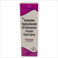 Azelastine Hydrochloride and Fluticasone Furoate Nasal Spray