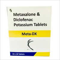 Metaxalone & Diclofenac Potassium Tablets