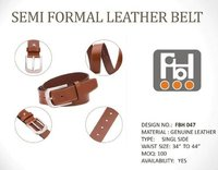 Semi Formal Leather Belt