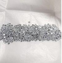 Cvd Diamond 1.30mm to1.35mm DEF VVS VS Round Brilliant Cut Lab Grown HPHT Loose Stones TCW 1