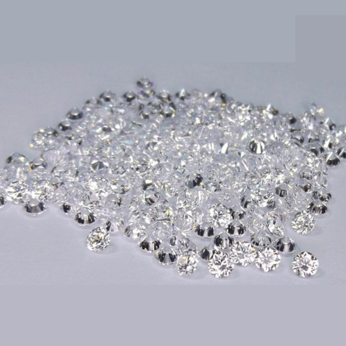 Cvd Diamond 1.40mm to 1.45mm DEF VS SI Round Brilliant Cut Lab Grown HPHT Loose Stones TCW 1