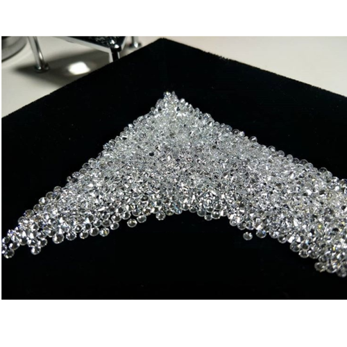 Cvd Diamond 1.45mm to 1.50mm DEF VS SI Round Brilliant Cut Lab Grown HPHT Loose Stones TCW 1