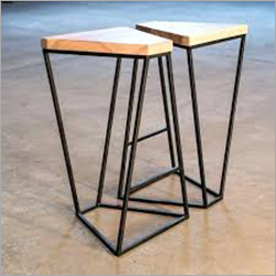 Iron Designer Stool