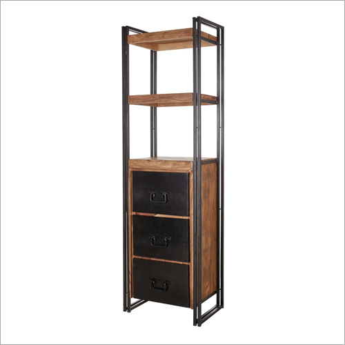 3 Iron Draw 2 Bookshelves