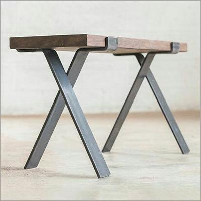 Cross Iron Table