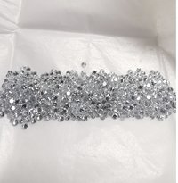 Cvd Diamond 1.90mm to 2.00mm DEF VS SI Round Brilliant Cut Lab Grown HPHT Loose Stones TCW 1