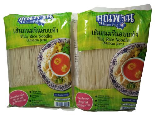 Thai Rice Noodles (Khun Poj)