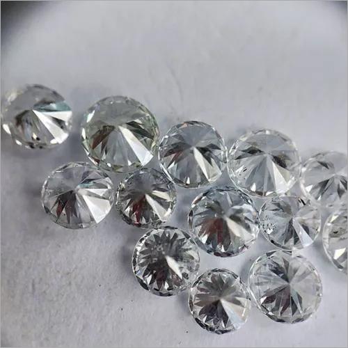 Cvd Diamond 2.30mm to2.40mm DEF VS SI Round Brilliant Cut Lab Grown HPHT Loose Stones TCW 1