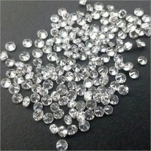 Cvd Diamond 2.40mm to 2.50mm DEF VS SI Round Brilliant Cut Lab Grown HPHT Loose Stones TCW 1
