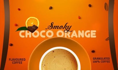 Choco Orange Flavoured Coffee Certifications: Iso
