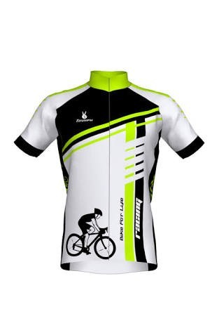 Cycling Jersey without Shorts