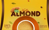 Almond flavoured coffee