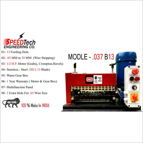 PVC Wire Stripping Machine