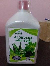 Sovam Aloevera with Tulsi Juice